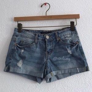 Aeropostale light denim shorts